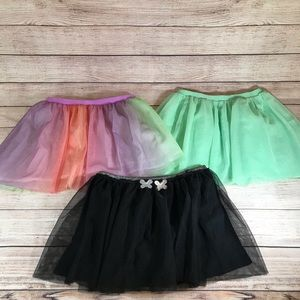 Girls tutu skirts size 7